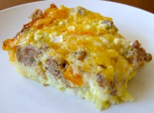 breakfast-casserole-sausage