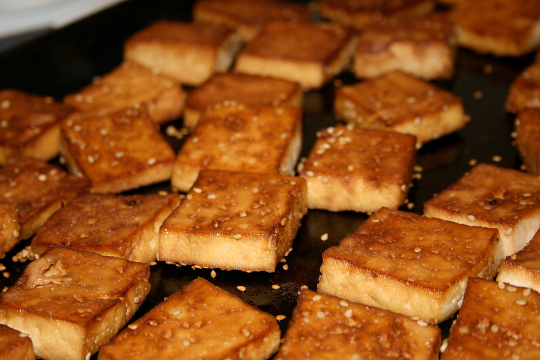 "... ""Crisping"" Marinade for Oven-Baked Tofu 